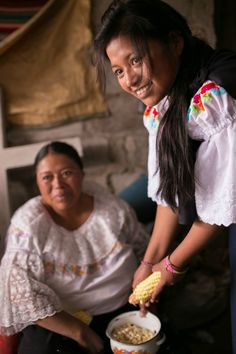 How can a daughter have so much hope for her future when her mother has none? - #CompassionBloggers #Ecuador 2016