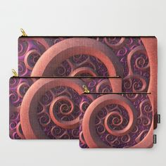 Spiral Mania Carry-All Pouch