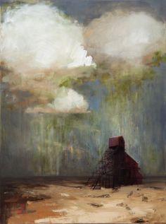 "Saatchi Online Artist: Sandy Chism; Oil, 2012, Painting ""Climb"""