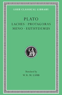 Plato, Laches. Protagoras. Meno. Euthydemus  The great masterpiece in ten books, the Republic, concerns righteousness (and involves education, equality of the sexes, the structure of society, and abolition of slavery). Of the six so-called dialectical dialogues Euthydemus deals with philosophy; metaphysical Parmenides is about general concepts and absolute being; Theaetetus reasons about the theory of knowledge LCL 165: