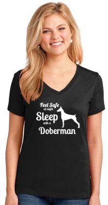 Sleep with a Doberman
