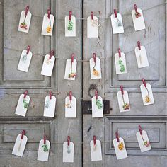 Numbered Advent Clips in Holiday DÉCOR Advent at Terrain Mary Christmas, Christmas Is Coming, Christmas Holidays, Christmas Crafts, Christmas Decorations, Holiday Decor, Christmas Ornaments, Christmas Inspiration, Merry