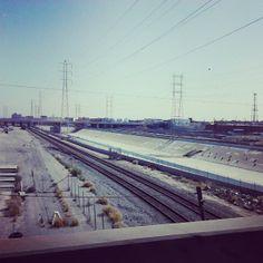 Los Angeles River -  Los Angeles, CA #JetpacCityGuides #LosAngeles