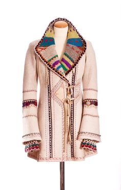 orterstrom.com - more great ideas that can be adapted to revamping old coat