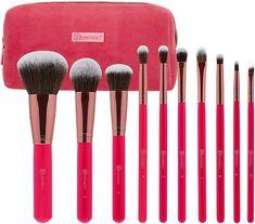 BOMBSHELL BEAUTY -- 10PC Beauty Brushes, Best Makeup Brushes, How To Clean Makeup Brushes, Eye Brushes, Makeup Brush Set, Best Makeup Products, Beauty Products, Makeup Sets, Bh Cosmetics