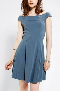 Kimchi Blue Kelly Off-The-Shoulder Dress #urbanoutfitters