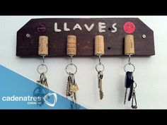 Cómo hacer un porta llaves / Tutorial para hacer un porta llaves - YouTube