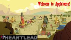 Heartlead - Welcome to Appleloosa! (Countrywave) Game Background, Animation Background, All Planets, Twitter Backgrounds, Love To Meet, My Little Pony Friendship, Picture Link, Landscape Art, How To Introduce Yourself
