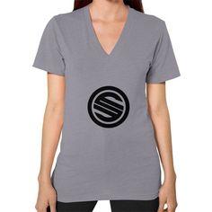 Shortyyguy Shirt V-Neck (on woman) Shirt