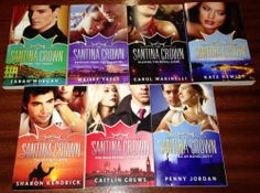 7 NEW Mills AND Boon THE Santina Crown Romance Book Series Bulk 2012 | eBay