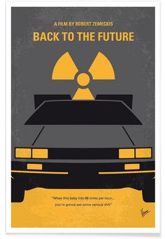 Back to the Future I als Premium Poster von Chungkong   JUNIQE