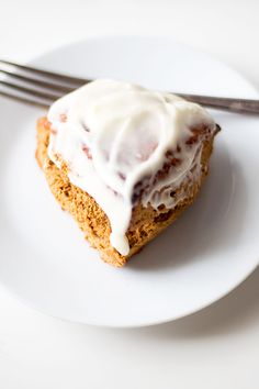 gingerbread scones with buttered rum glaze | the perfect addition to your hokiday breakfast @McCormick  Spice Your Holiday ad