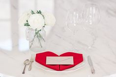 Set the table this Valentine's Day with these adorable folded napkin tutorials.