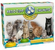 Madd Capp Cat Checkers: If you're all bored with regular Checkers, this version is a lot of fun.