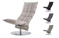 Woodnotes K tuoli, pyörivä