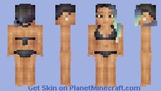 Tropical Ocean - Moving Eyes! Minecraft Skin