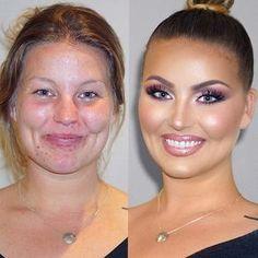 Divki sdílejí své fotky před po aplikaci make-up. Divki sdílejí své fotky před po aplikaci make-up.Наши планы и ответы Beauty Make-up, Beauty Hacks, Hair Beauty, Beauty Tips, Make Up Looks, Bridal Makeup, Wedding Makeup, Celebs Without Makeup, With And Without Makeup