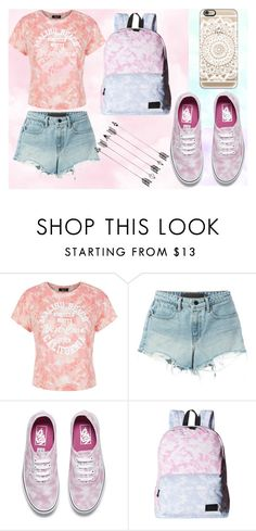 """""""Outfit 107"""" by sarahcb2002 ❤ liked on Polyvore featuring New Look, T By Alexander Wang, Vans and Casetify"""