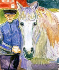 Edvard Munch, Man with Horse