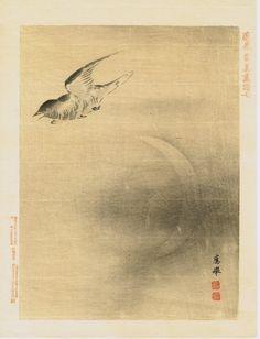 Japanese antique woodblock print Maruyama Okyo 7 #dailyconceptive #diarioconceptivo