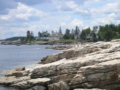 My wife Monika posted about our kayak trip at Linekin Bay in East Boothbay, Maine during the of July holiday. Best Vacations, Vacation Trips, Boothbay Harbor Maine, Great Places, Beautiful Places, Beach Cove, Maine New England, Honeymoon Places, Maine House