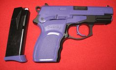 Purple coated gun!! i NEED this!