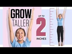 7 Stretches to Grow Taller & Improve Posture + BONUS Tips! 7 Stretches to Grow Taller & Improve Get Taller, How To Grow Taller, Stretches To Grow Taller, Exercise To Grow Taller, Increase Height Exercise, How To Get Tall, Height Growth, Improve Posture, Feel Tired