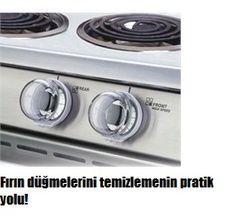 Fırın düğmeleri ve hatta çamaşır makinesi düğmelerinin etrafı zamanla kirlenir 2 dakika içerisinde pratik şekilde nasıl temizlersiniz