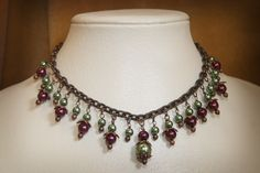 """""""Jester"""" Necklace at www.guepardcouture.com $65.00"""
