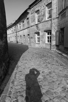 Self portrait, Vilnius