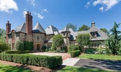 newyork state mansions exterior   English Manor Style Home In North Castle, New York   Homes ...