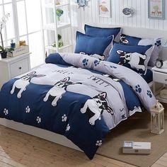 Frenchie World® Boys bedding set