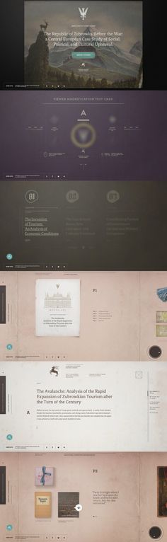 Grand Budapest Hotel  Such a beautiful interactive website. http://www.akademiezubrowka.com