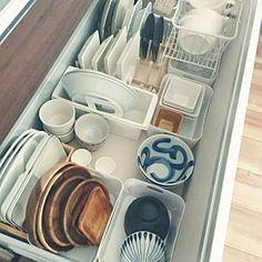 Kitchen/無印良品/ダイソー/IKEA/100均/ニトリ...などのインテリア実例 - 2016-03-08 05:40:56