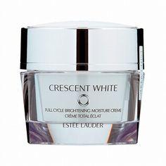 【透明感のある、均一に明るく輝く肌色へ】エスティローダー   クレッセント ホワイト クリーム ***肌本来のバリア機能をサポートする薬用美白クリーム。 やわらかでとろけるような使用感で 深いうるおいでお肌を見たして、肌荒れを防ぎ、肌本来のバリア機能をサポートします。 過剰なメラニン生成を抑えてシミを予防し、さらに乾燥などによるダメ―ジにもアプローチ。 肌をなめらかに整え、透明感を引き出します。