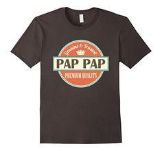 Pap Pap T-shirt Funny PapPap Grandpa Fathers Day Tee - Male Small - Asphalt Homewise Shopper http://www.amazon.com/dp/B018E925RY/ref=cm_sw_r_pi_dp_C.mwwb1CNDA97