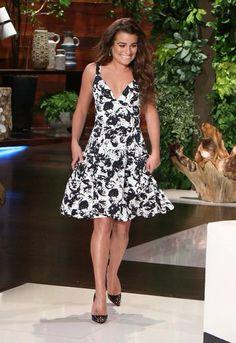 Lea Michele on The Ellen DeGeneres Show (January 6, 2015)