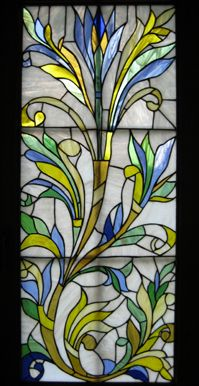 "Pomelova Innes. Stained Glass ""Flowers"""