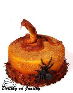 Venom snake cake