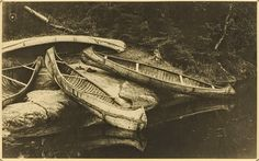 Ojibway Canoes, Roland W. Reed.