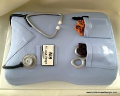 Nurse Scrub Top Cake - Kyrsten's Sweet Designs | Specialty Cakes and Cookie Favors