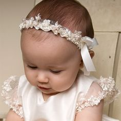 Baptismal headband
