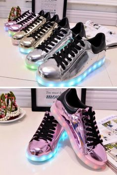 Hip Hop Shoes That Light Up