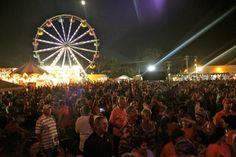 Entertainment Schedule for Breaux Bridge Crawfish Festival
