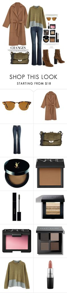 """07.01.18"" by caglatersak ❤ liked on Polyvore featuring Ray-Ban, Paige Denim, rag & bone, Yves Saint Laurent, NARS Cosmetics, Gucci, Bobbi Brown Cosmetics, Chicwish, MAC Cosmetics and Isabel Marant"