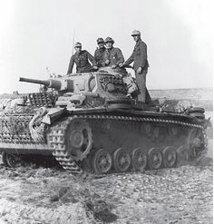A Panzer 3 Ausf H with the Afrika Korps