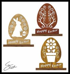 Scrollsaw Workshop: Fancy Easter Egg Scroll Saw Pattern.