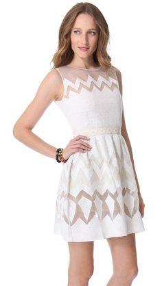 5.3.13 : Saloni Organza Sleeveless Dress