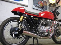 Cafe Prepped - 1975 Honda CB400F - Exhaust