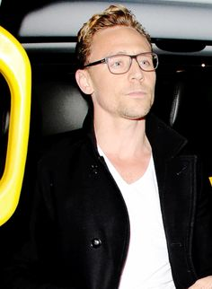 Tom Hiddleston (those glasses, that hair!!)